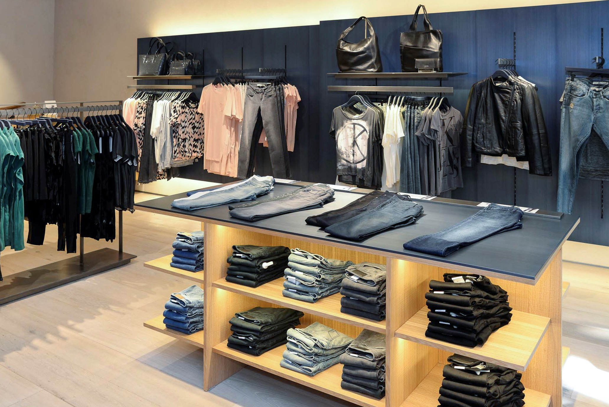 Calvin klein opens first store in south africa at the v amp a waterfront